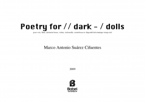 Poetry for // dark - / dolls image